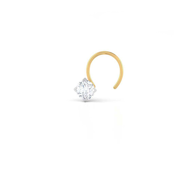 Single Diamond Nose Pin Buy Diamond Nose Pin Online In India