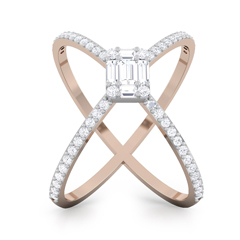 Olivia diamond ring