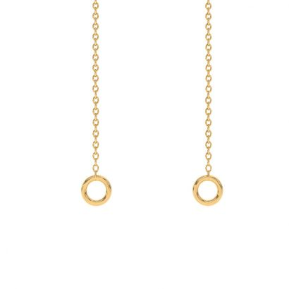 single gold cable chain