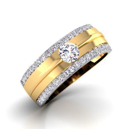 kiana solitaire band for him