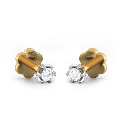 0.07ct south screw earrings