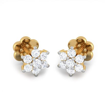 7 stone south diamond earring