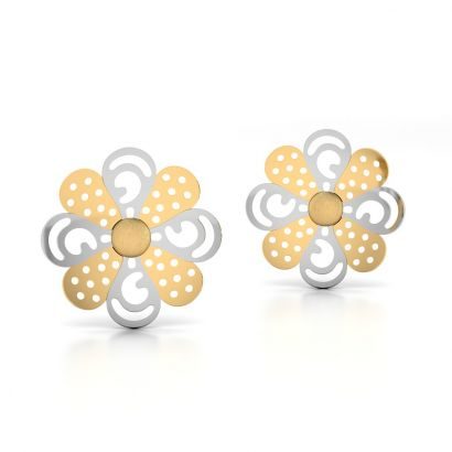 queen of whites earring-Ready To Ship