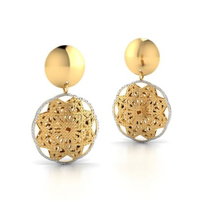 Agnella Gold Earring-Ready to Ship