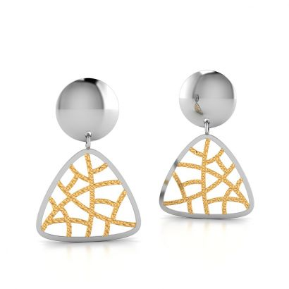 maze filo earring-ready to ship