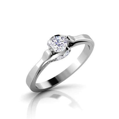 amato solitaire ring-Ready To Ship