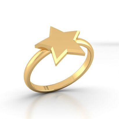 Star Gold Ring For Women