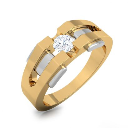 galaxy solitaire ring-Ready To Ship