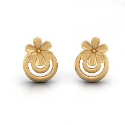 Aeindri Gold Earring-Ready to Ship