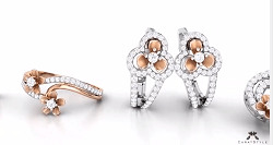 Diamond-Jewellery-Latest Blossom Collection Of Rings Pendants-Earrings